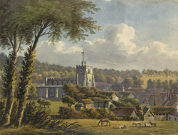 View of Tring Church, Hertfordshire